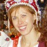 Svetlana en costume russe
