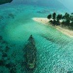 Vista Aerea Isla de Perro-Barco Hundido