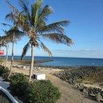 Playa exterior del hotel