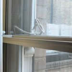 Broken sash cord