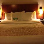 Big comfy kind bed!