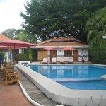 piscina limpia y agradable