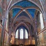 Assisi, Basilica di San Francesco, interno