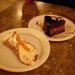 Cannolo e Dolce al Cioccolato