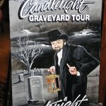 Poster for the Candlelight Graveyard Tour