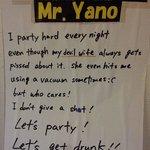 Mr Yano