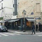 La Cerise sur la Pizza, façade du restaurant