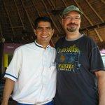 Flamingo Buffet - Alejandro and I - GREAT Server!