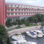 vista panoramica dell'albergo