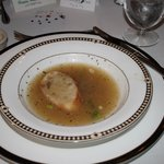 Onion soup- My least favorite dish at the Inn- Rest was Great