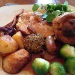 Roast Turkey Dinner Lovely!!
