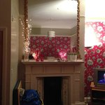 Biggest mirror ever with fairy lights :)