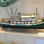 Model of a local tug