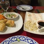 BANGKOK CHICKEN CURRY PUF nd STEAMED THAI DUMPLING