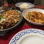 GARDEN DUCK and PAD THAI