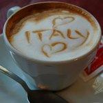 Great coffee at mamma mia.