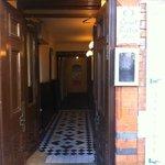 Corridor down to the entrance.