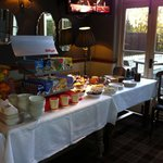 Breakfast is served full English too!! Great way to start the day