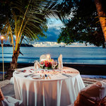 Romantic Dinner just in front of our King Sun Suite