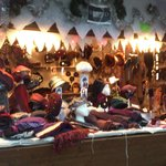 Montreux - marché de Noël - des coiffes