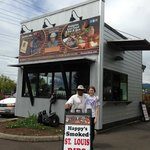 Happys Soul Food Shack - not much to look at, but magic is served through those windows!