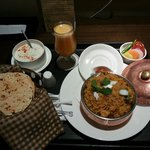 Super delish briyani! Comes with complimentary soup and breads