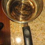 Burnt cookware