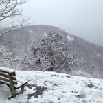 Meditation Rock in February