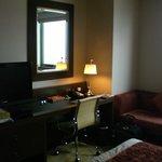 Work/TV area