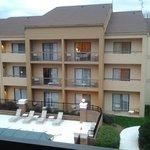 Look from balcony