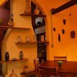 area de café e hall de entrada