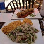 Mahi Mahi Ceviche & Mofongo