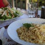 Fresh Salads and pasta