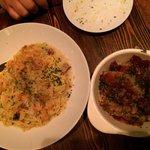 Speghetti and pork bones