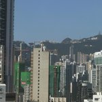 View of Victoria Peak from Room