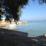 From the beach at Hotel Kalypso