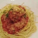 spaghetti with meatballs... simple and tasty