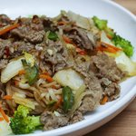 Stir Fried Noodles with beef