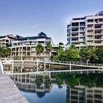 Marina Residential overlooking the yacht marina