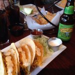 My Taco Combo Plate with Sierra Nevada Pale Ale