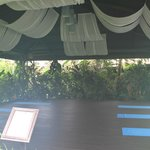 Yoga/meditation area