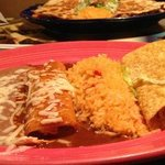The best Chicken Enchilada and Taco
