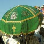 Church Umbrella, St Mary's Celebration, 30 November, Axum
