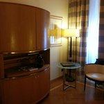 Room with Nespresso machine
