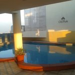 Roof top swiming pool (like a domestic water tank)