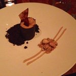 Caramel fudge dessert!