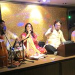 the wonderful band in the Tripti Restaurant