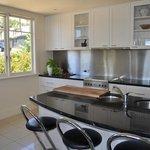 The View modern kitchen