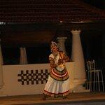 Evening dance show