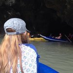canoe thru the caves